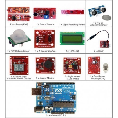 Buy Deluxe Kit For Arduino UNO R3 Sensor Kit