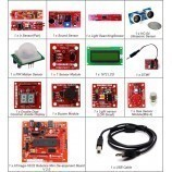 Sensor Kit With ATMEGA 16 Robotics Mini Development Board