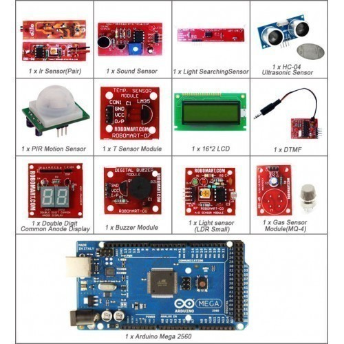 Deluxe Kit For Arduino MEGA 2560 Sensor Kit