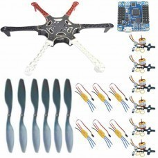 Hexacopter Mega DIY Kit With Flip32+ (V2.3 Rev6.) 10dof Flight Control Board