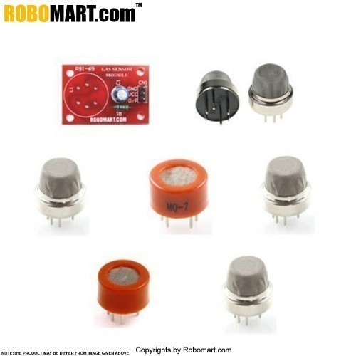 Gas Sensor Kit With Breakout