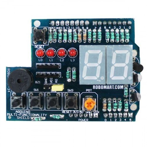 arduino i2c multifunction shield