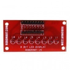 8 Bit LED Display for Arduino/Raspberry-Pi/Robotics