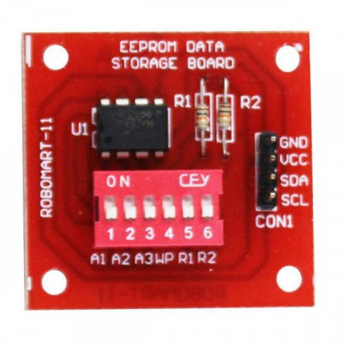 eeprom data storage board