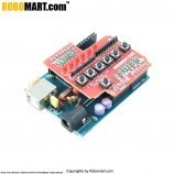 ARDUINO Board (ATMEGA 8A) With 6 Bit Keypad & LED Arduino Shield