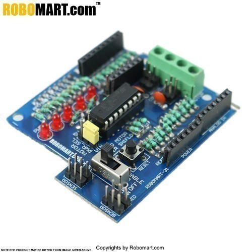 motor drive shield l293d for arduino