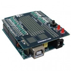 Robomart ARDUINO Board With ARDUINO Prototyping Shield