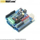 ARDUINO Board With L293D Motor Driver Shield