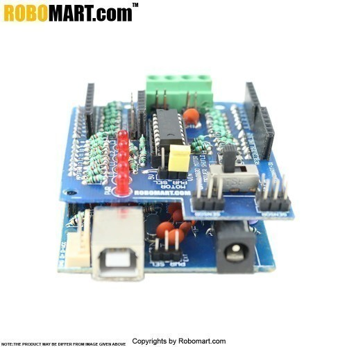 Robomart Arduino Board With L293d Motor Driver Shield
