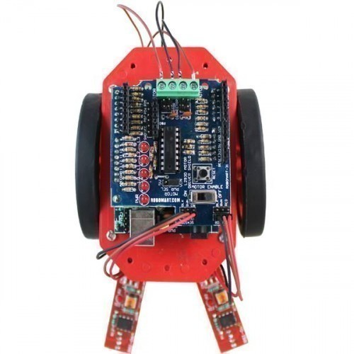 Buy online arduino line follower robotics kit using