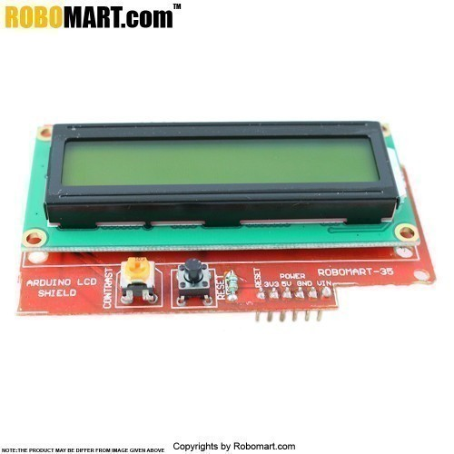 Buy arduino lcd shield with uno board