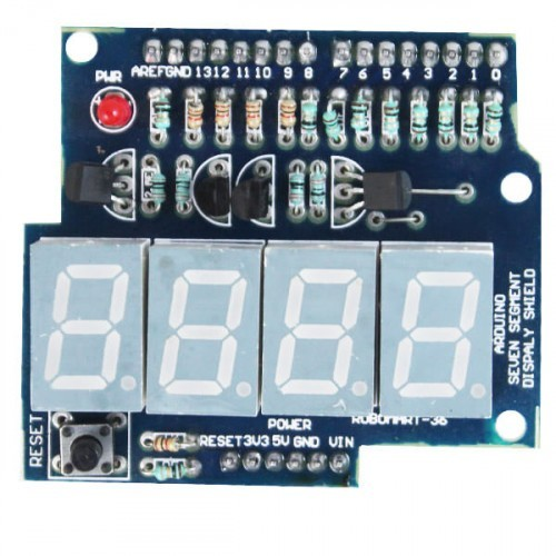 Arduino Seven Segment Display Shield