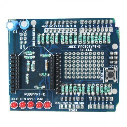 Arduino XBEE Prototyping Shield