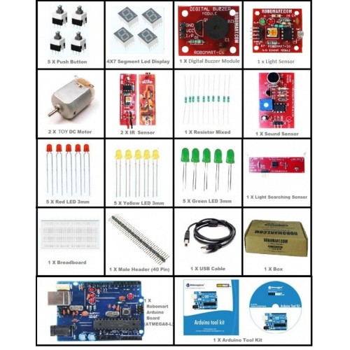 arduino quick learning kit