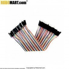 Male/Male Jumper Wires for Arduino/Raspberrypi/Robotics - 40 x 8""