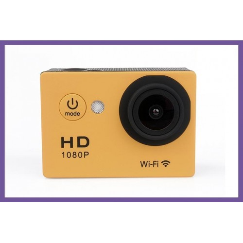 Full HD WIFI Sports Camera Silver Edition With Waterproof for Arduino/Raspberry-Pi/Quadcopter/Robotics