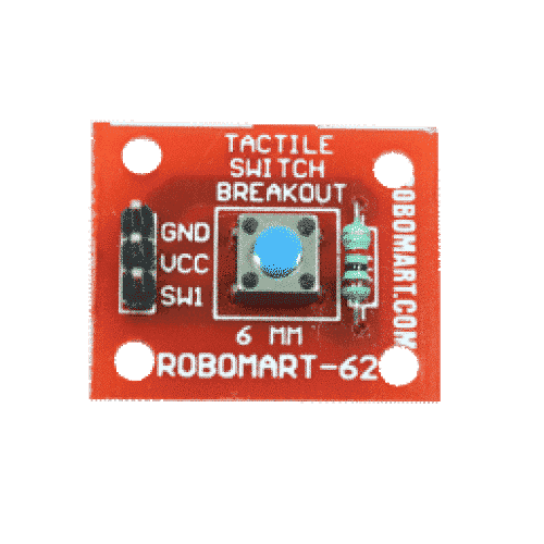 6 mm tactile switch breakout