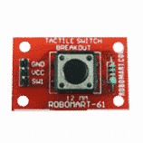 Tactile Switch Breakout (12 MM)