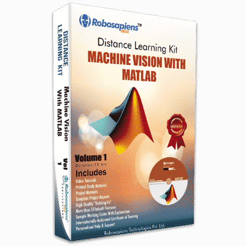 7 Days Machine Vision with Matlab Distance Learning Kit