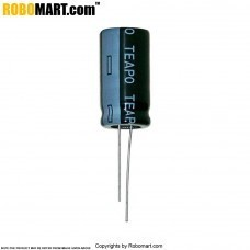 1500µF 25v Electrolytic Capacitor