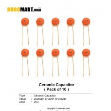 20000pF (203pF) Ceramic Capacitor (Pack of 10)