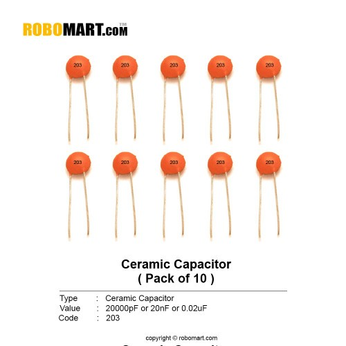 0.02uf ceramic capacitor