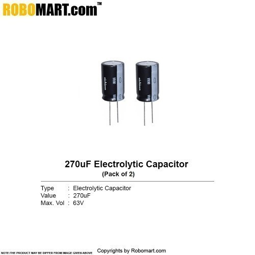 270µf 63v electrolytic capacitor