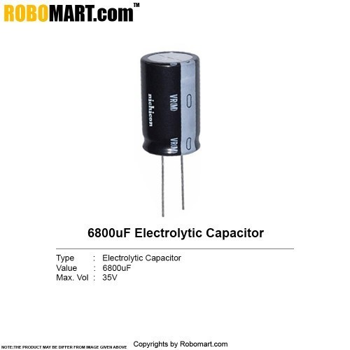 6800uf 35v electrolytic capacitor