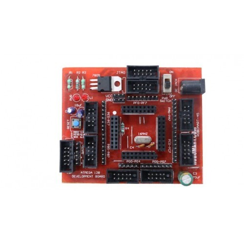 ATMEGA 128 Development Board