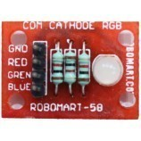 Comman Cathode RGB Led Breakout for Arduino/Raspberry-Pi/Robotics