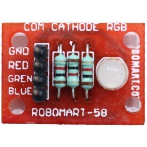 Robomart Comman Cathode RGB Led Breakout
