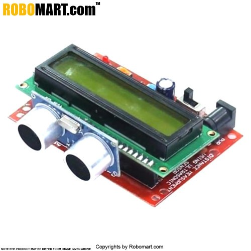 robomart distance measurement module using ultrasonic sensor