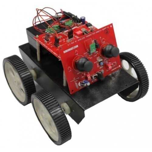 2.4 GHz RF Wireless Robotic Development Kit
