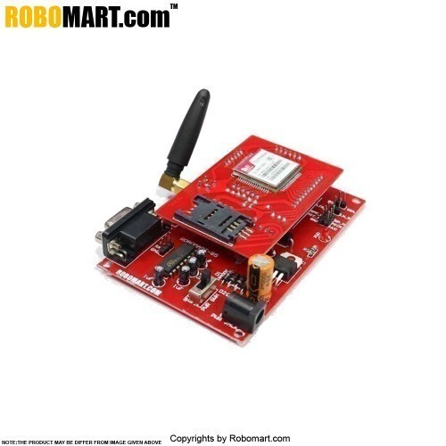Buy gsm gprs sim a module with stub antenna and sma