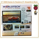 "11"" LED HDMI Display for Raspberry Pi / BeagleBone Black"