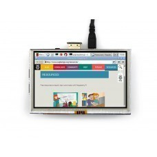 5 inch Touch Screen LCD for Raspberry Pi with HDMI Interface