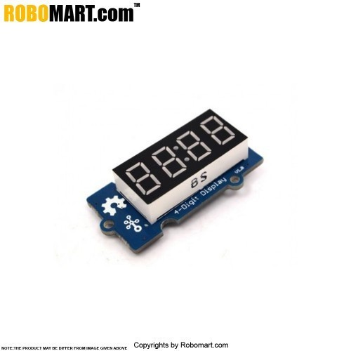 Grove 4 Digit Display for Arduino/Raspberry-Pi/Robotics