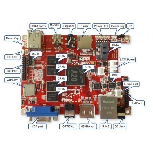 Buy BeagleBone Black Rev C With 4 GB Flash Online at Best
