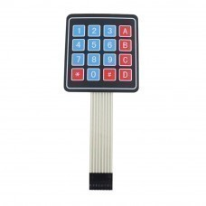 4x4 Matrix Keyboard/16 Key Membrane Switch Keypad for Arduino (Alphanumeric)