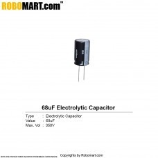 68µF 350v Electrolytic Capacitor