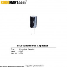 68µF 450v Electrolytic Capacitor