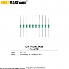 1uH Inductor (Pack of 5)