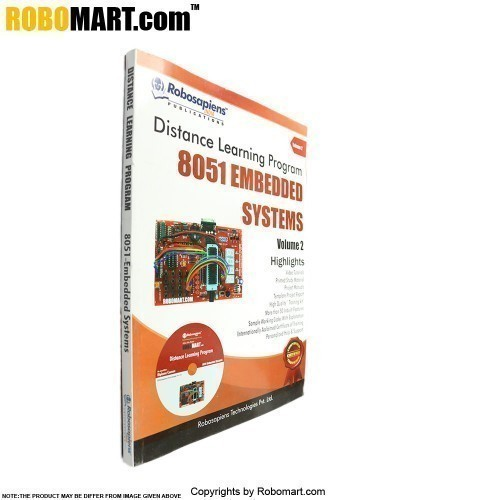 15 Days 8051 Embedded Systems Distance Learning Kit