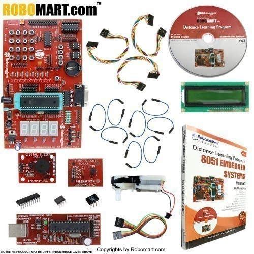 8051 Embedded Systems Distance Learning Kit