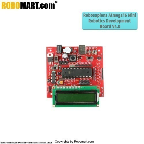 15 Days Robotics with ATMEL AVR Distance Learning Kit