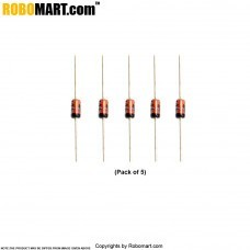 1N4454/75V/200mA Ultra Fast Recovery Diode (Pack of 5)