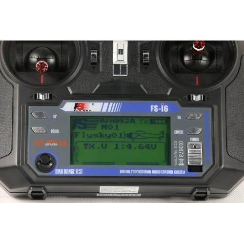FlySky FS-i6 2.4Ghz 6 Channel RC Transmitter with FS-iA6 Receiver