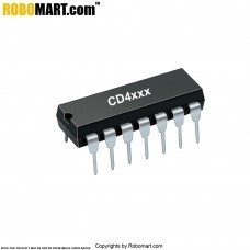 CD4073 Triple 3-input AND Gate