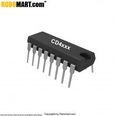 CD4553 3-Digit BCD Counter IC