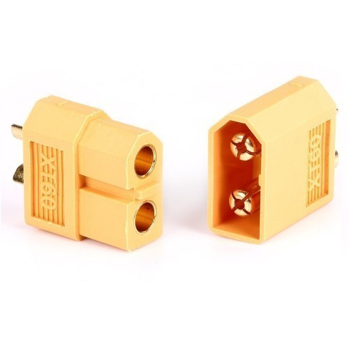 XT60 Bullet Connector Male/Female Pair for LIPO Battery